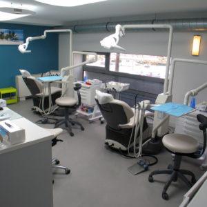 Cabinet d'orthodontie Saint François des drs Anne Jonas, Véronique Saladin et Herveline Sicot au Havre